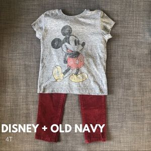 🎀2 Pcs • Disney + Old Navy • Size 4T🎀
